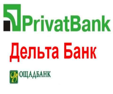 Самые популярные банки Украины