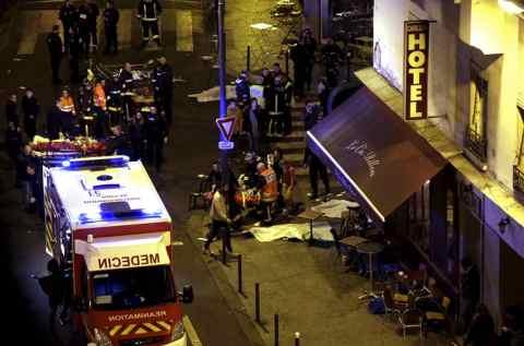 Терракти в Парижі