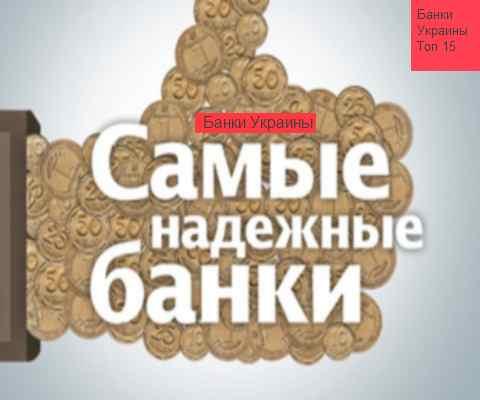 Рейтинг найнадійніших банків України 2015-2016